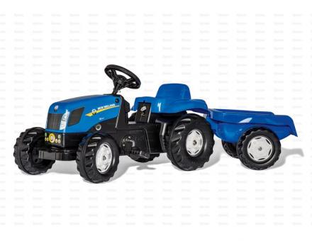 Ride On Rolly Toys - New Holland with Trailer